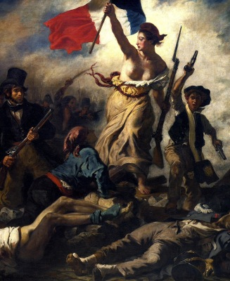 La libertad guiando al pueblo (1830)